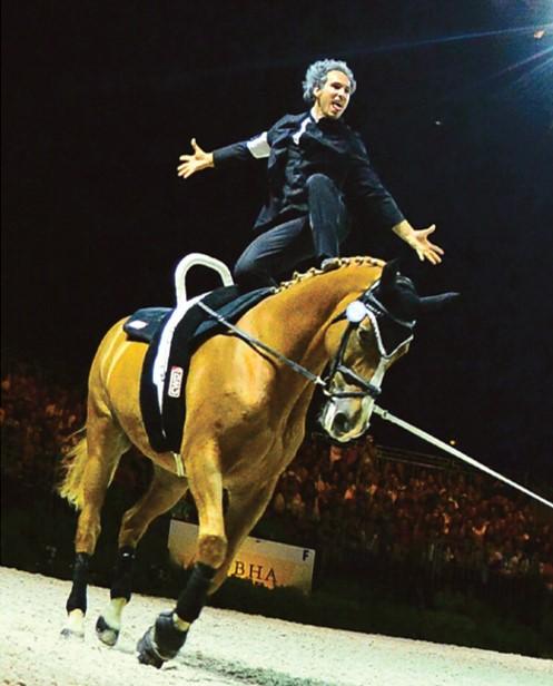 Couverture-la voltige equestre
