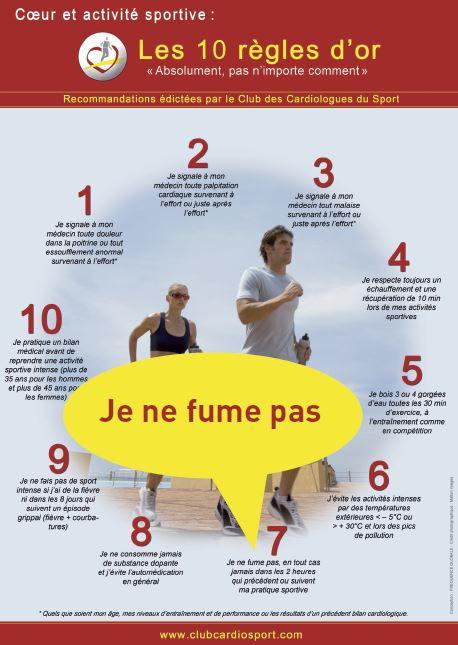 Sport et tabagisme : une association délétère | La médecine du sport