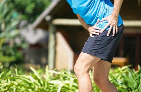 Severe hip pain